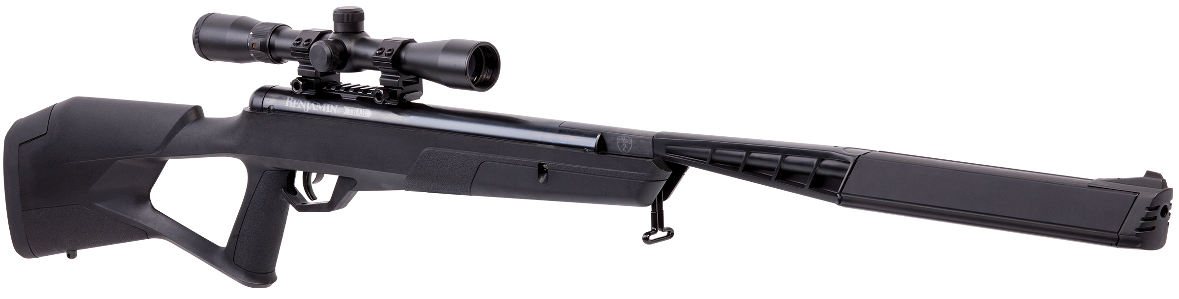Benjamin BMN2Q2SX Mayhem Air Rifle Break Open .22 Black