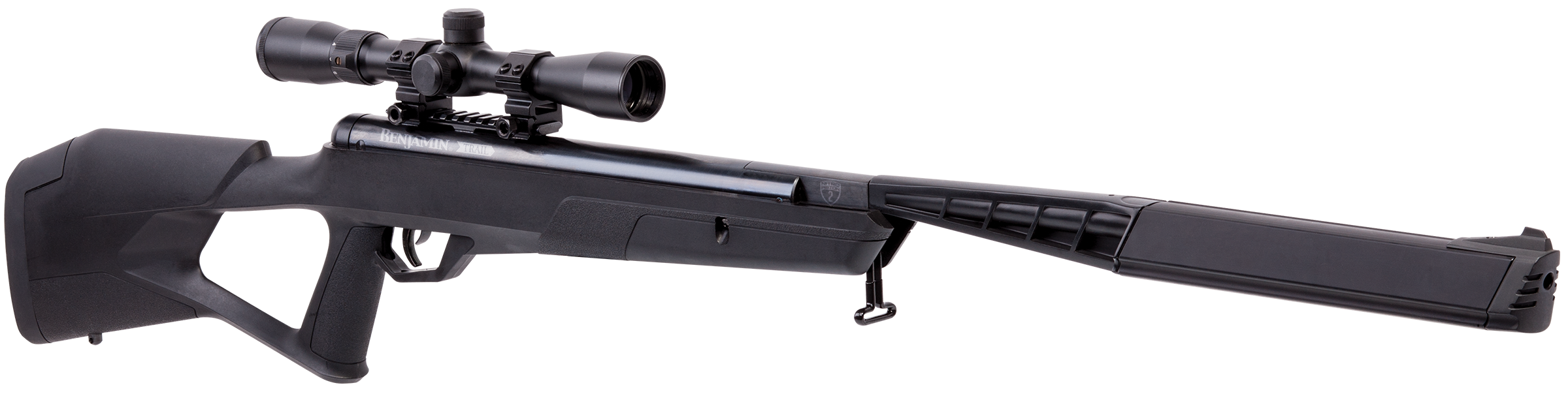 Benjamin BMN2Q7SX Mayhem Air Rifle Break Open .177 Pellet/BB Black