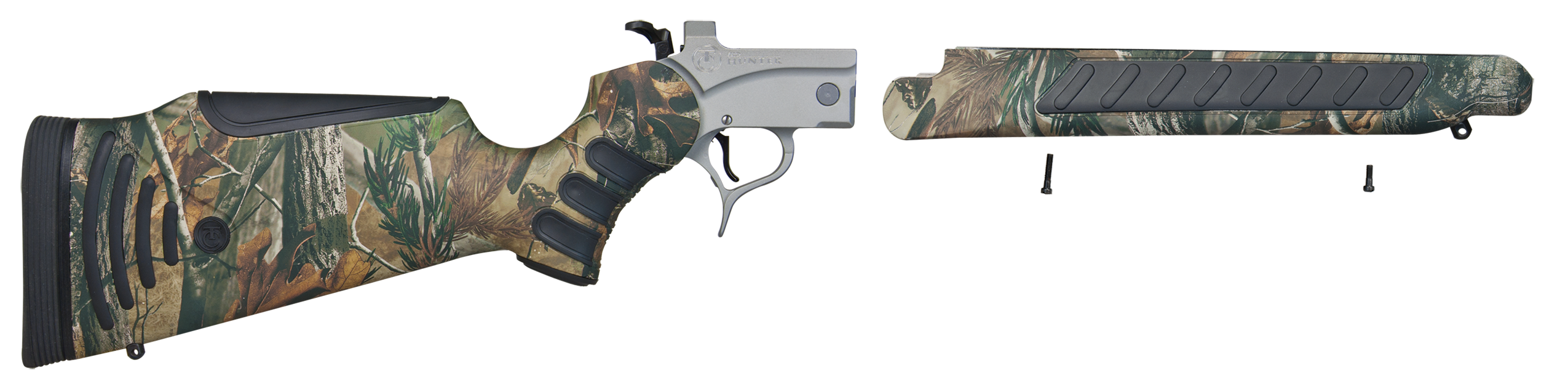 T/C Arms 08151875 Pro Hunter Frame Pro Hunter Stainless Steel Realtree Hardwoods Synthetic