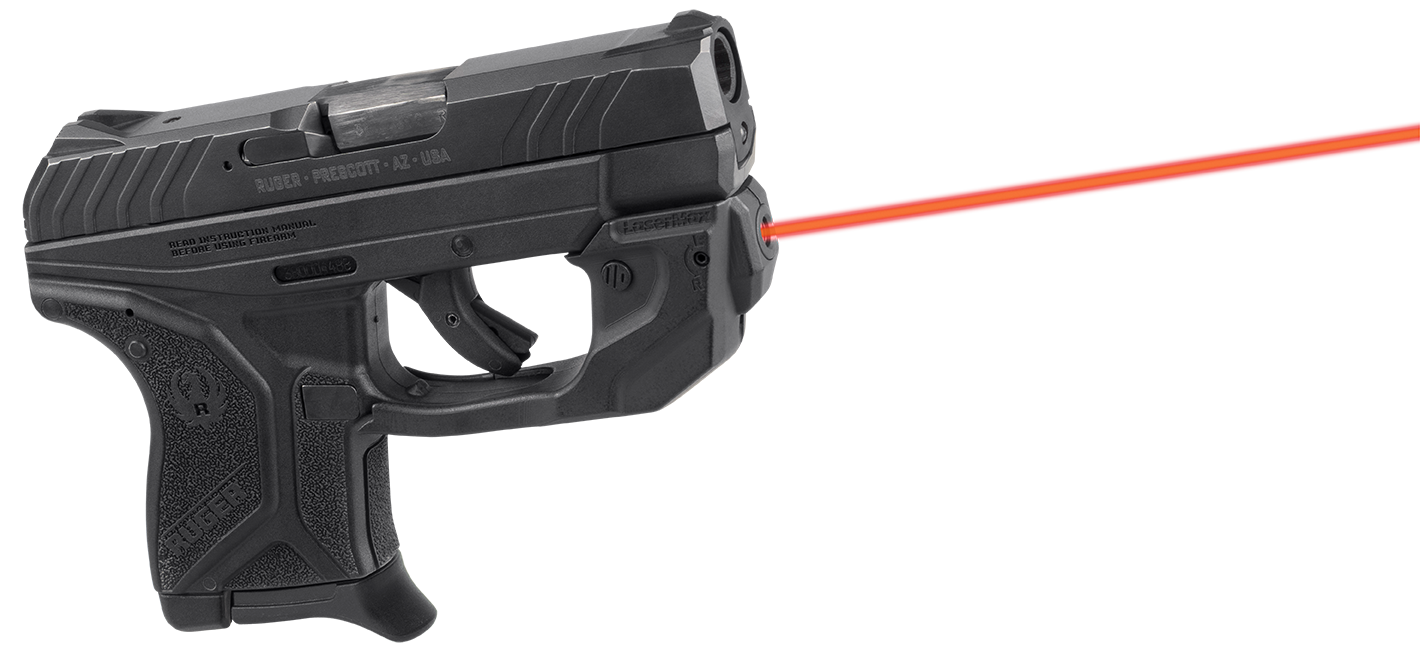 LaserMax GSLCP2R CenterFire Ruger LCP II Red Laser Trigger Guard
