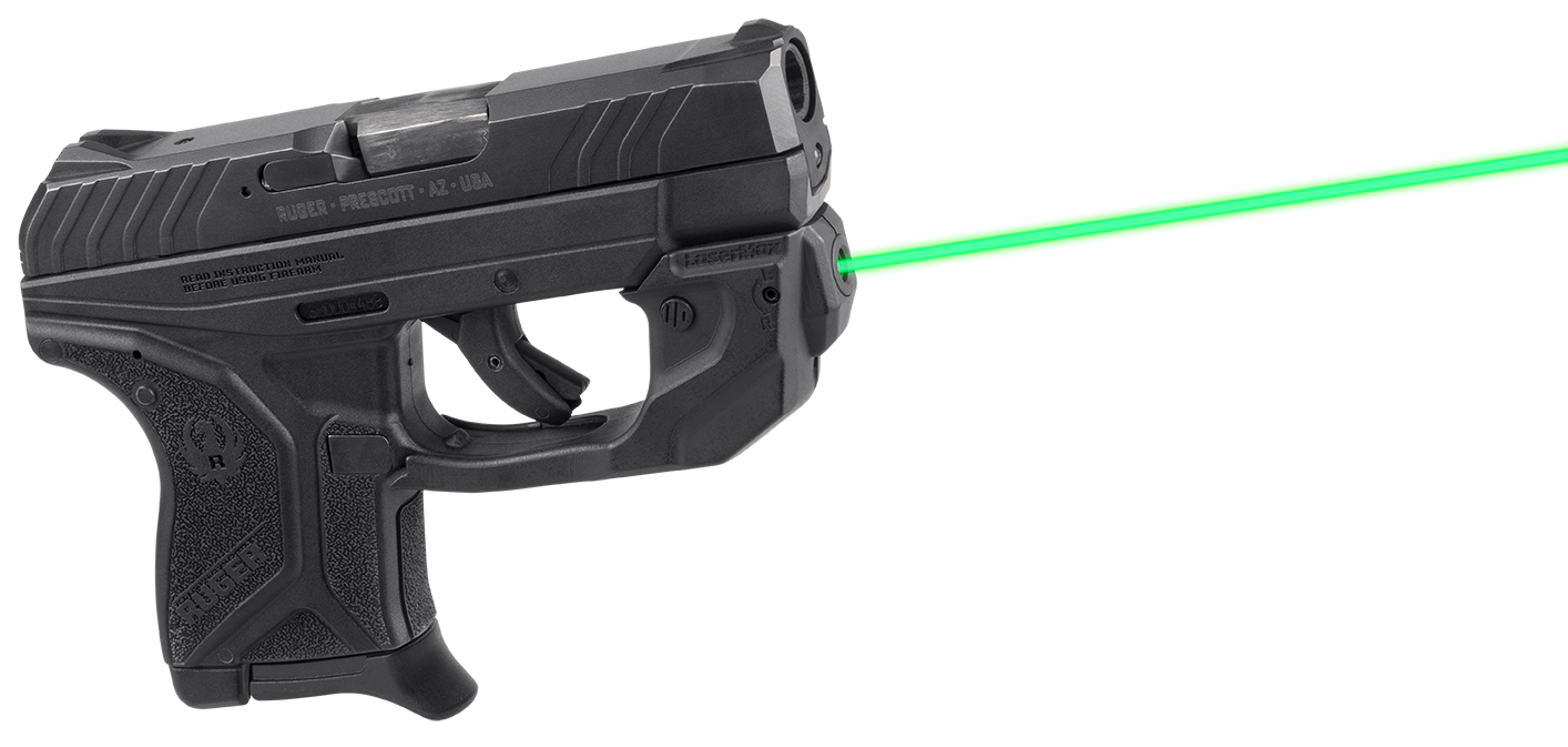 LaserMax GSLCP2G CenterFire Ruger LCP II Green Laser Trigger Guard