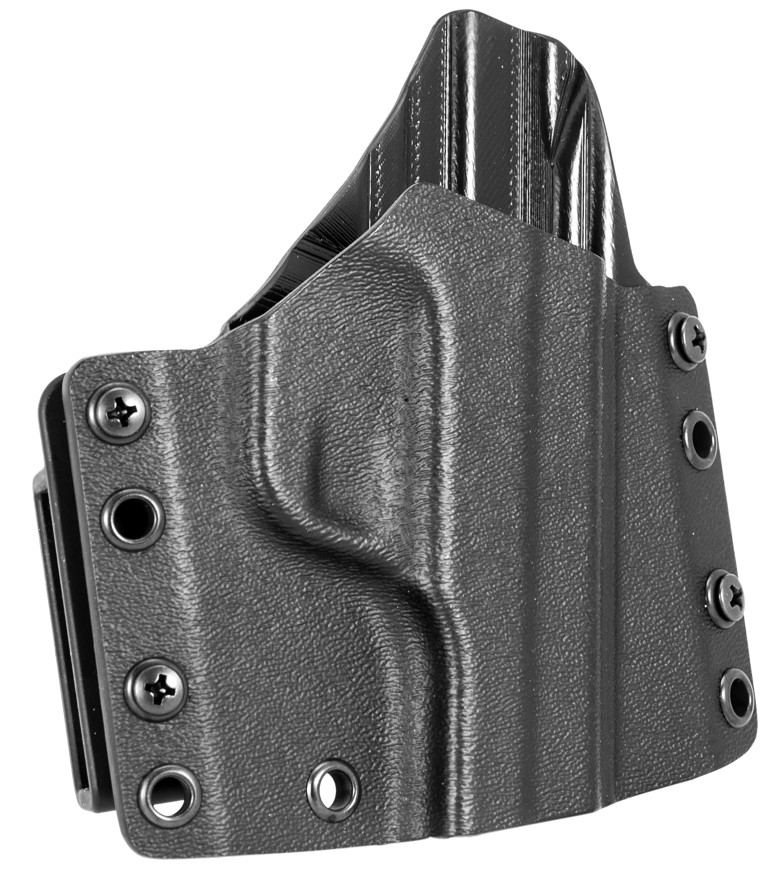 Mission First Tactical HSIGP226RLOW MFT OWB  Sig 226 Kydex Black