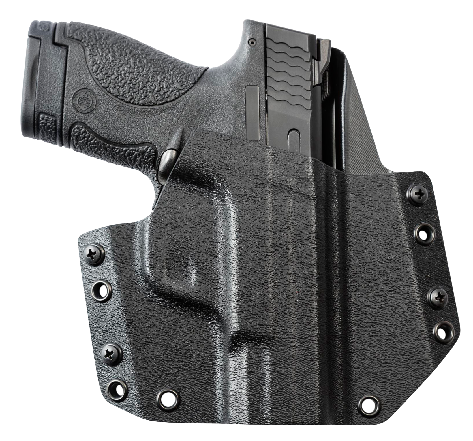 Mission First Tactical HSWSHSOWBBL MFT OWB  S&W M&P Shield 9/40 Kydex Black