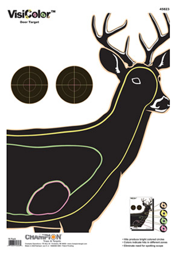 Champion Targets 45823 VisiColor Interactive Paper Target 13