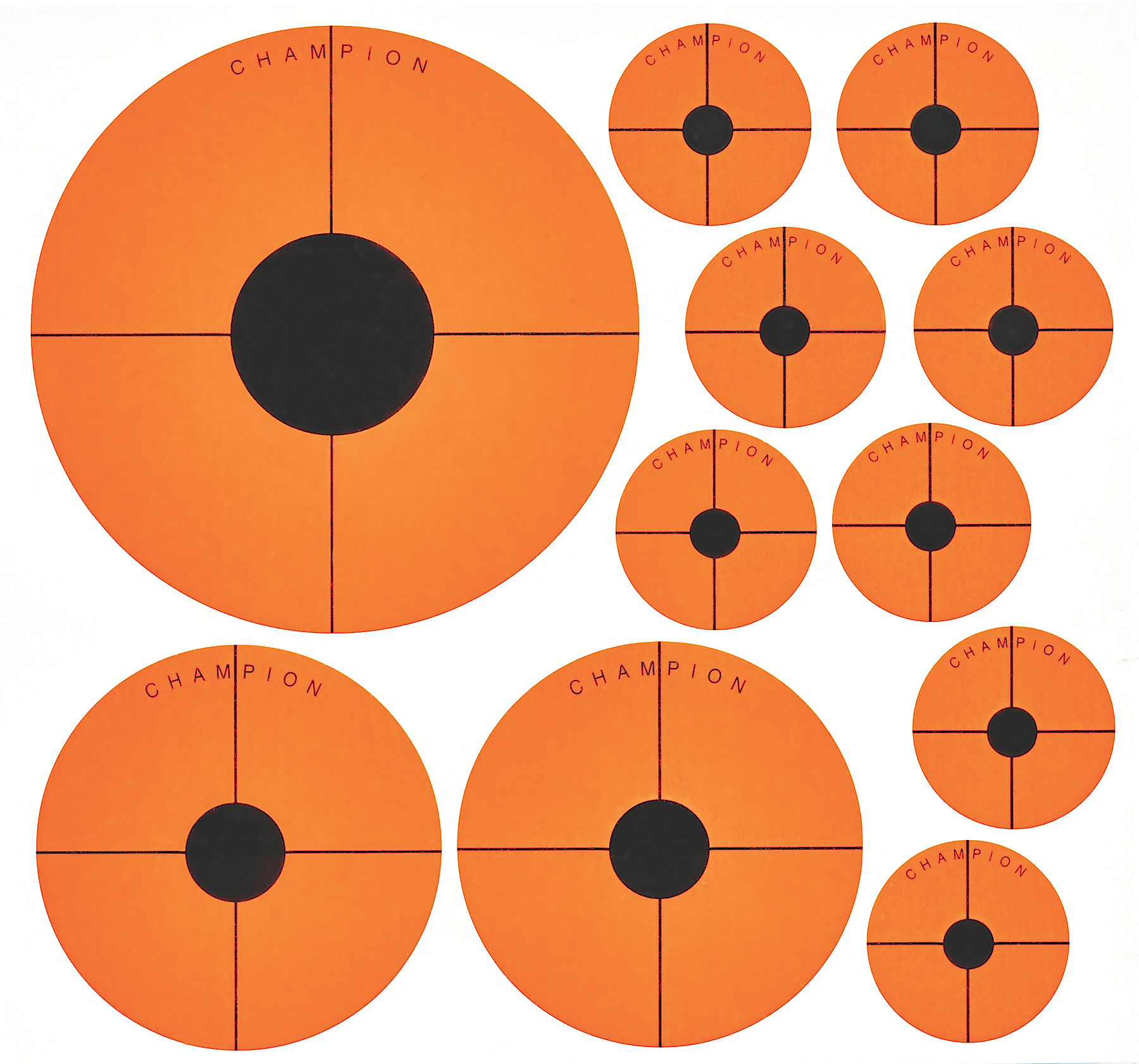 Champion Targets 45771 Instant Adhesive Targets 20 Pack