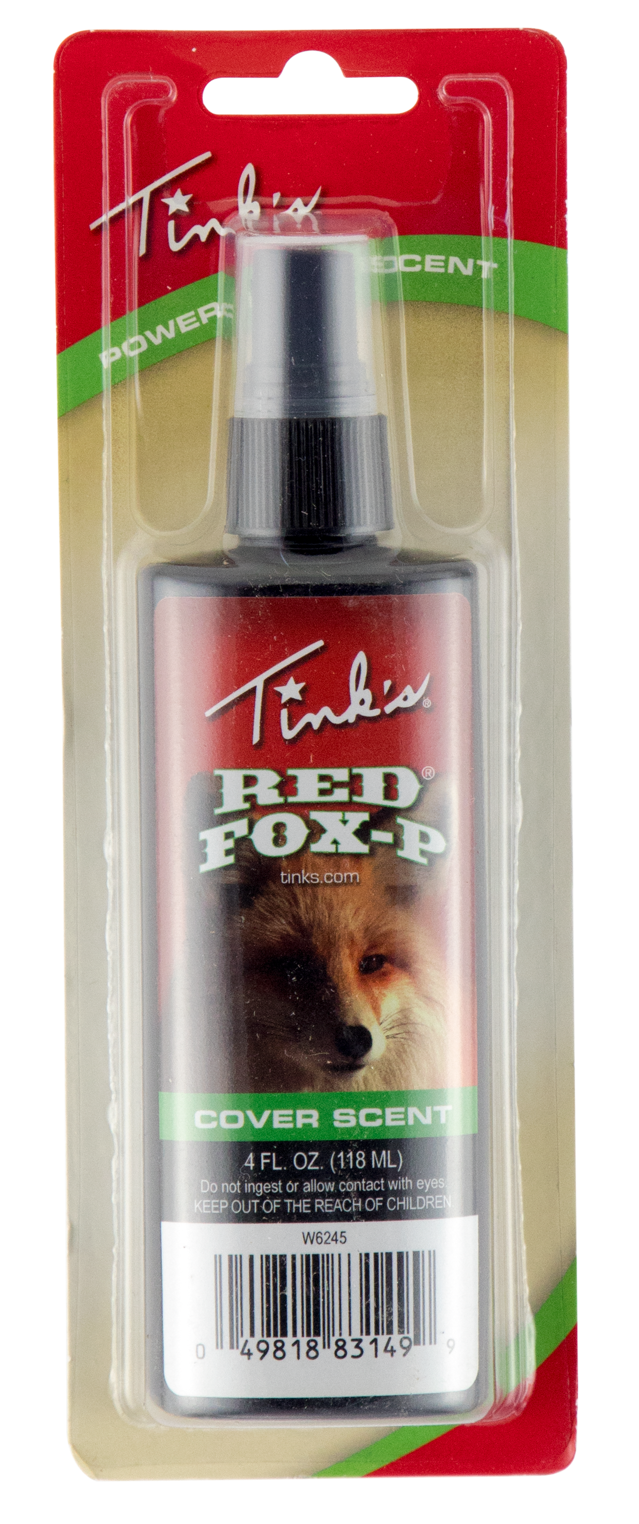 Tinks W6245 Red Fox-P Cover Scent 4oz
