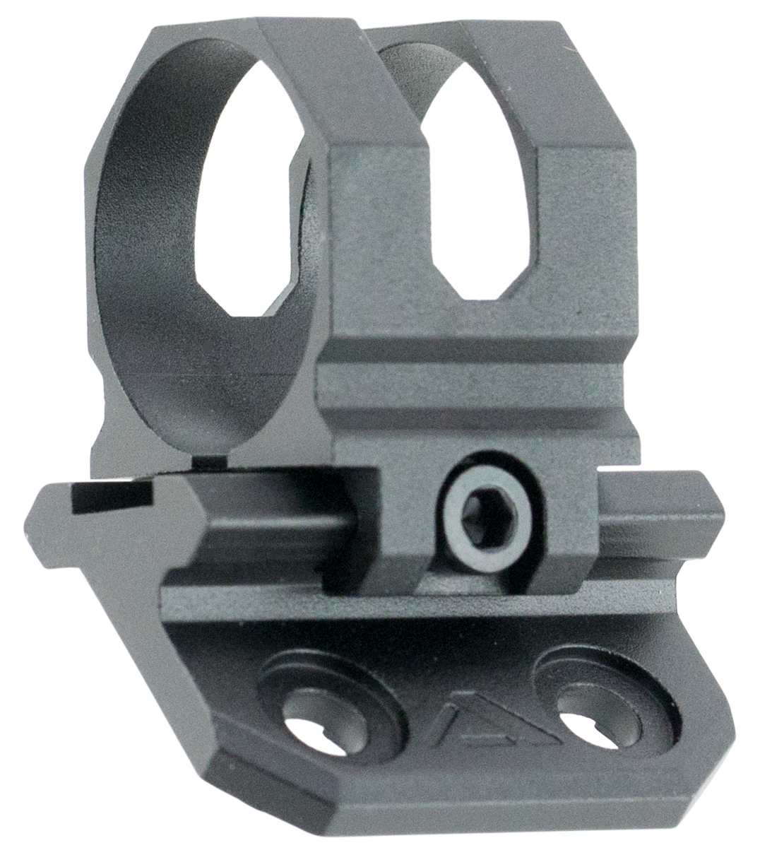 Aim Sports AMMC01 1-Pc Base & Ring Combo For M-Lok Offset Style Black Hard Coat Anodized Finish