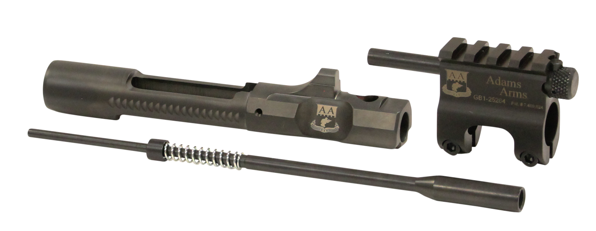 Adams Arms FGAA03107 Standard Carbine Length Piston Kit AR Style 223 Remington/5.56 NATO Steel