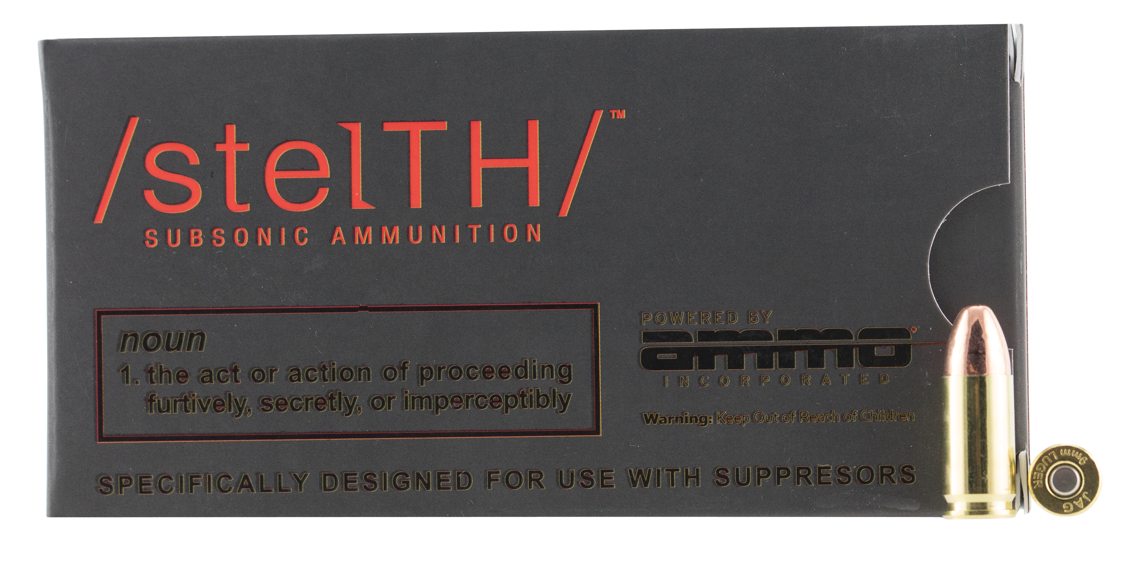 AMMO 9147TMC  STELTH 9MM 147SUB  50/20