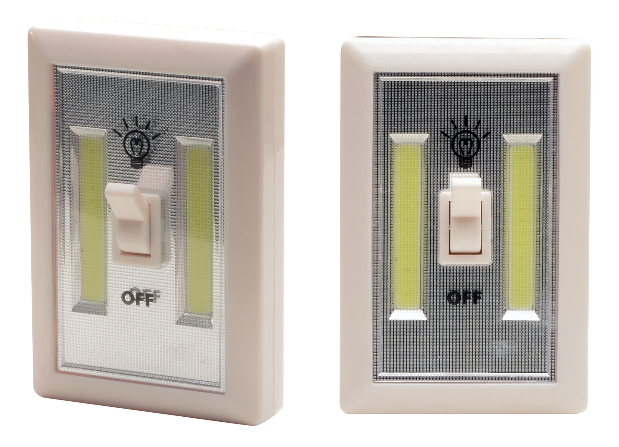Cyclops CYCCOB2PK Light Switch 200 Lumens AAA (3) White 2Pk