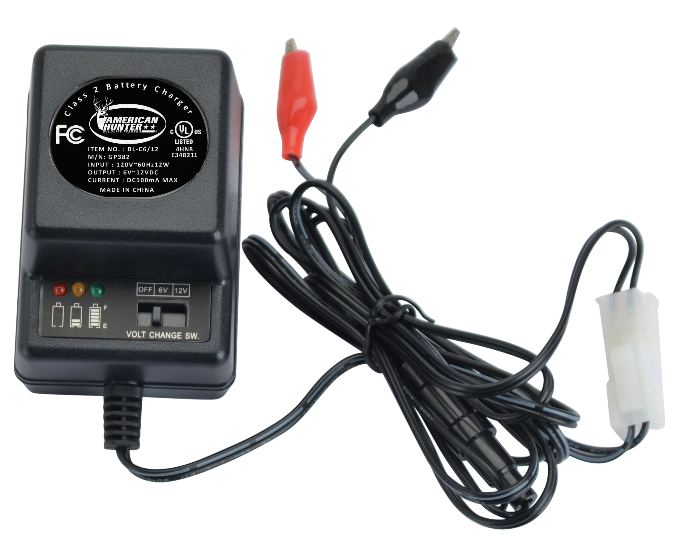 American Hunter BLC6/12 Battery Charger 6 Volt or 12 Volt