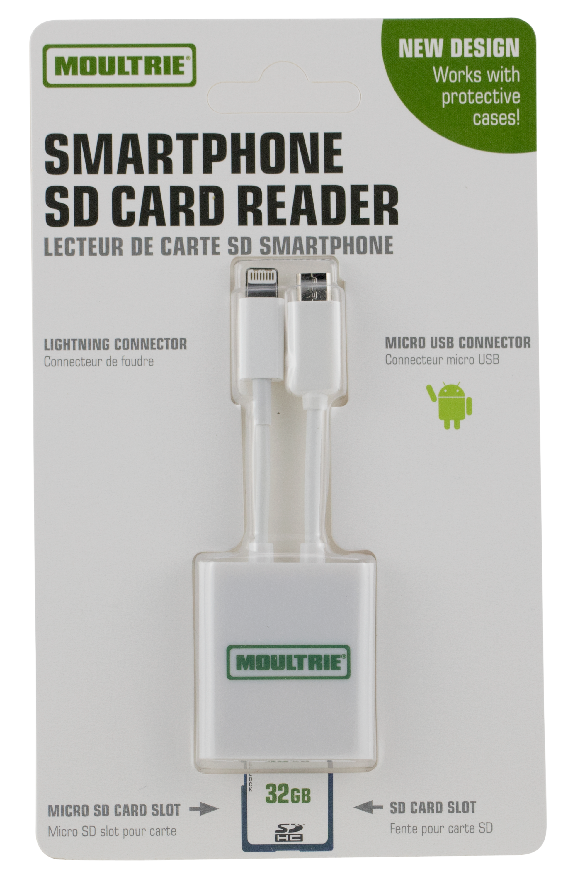 Moultrie MCA13228 Smart Phone SD Card Reader