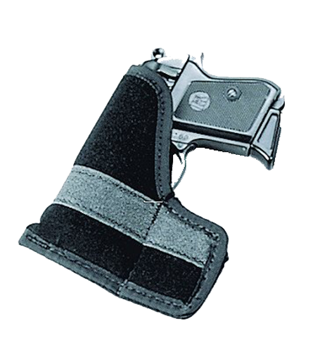 Uncle Mikes 87441 Inside The Pocket Holster Suede Black Small Autos .22-.25 Cal
