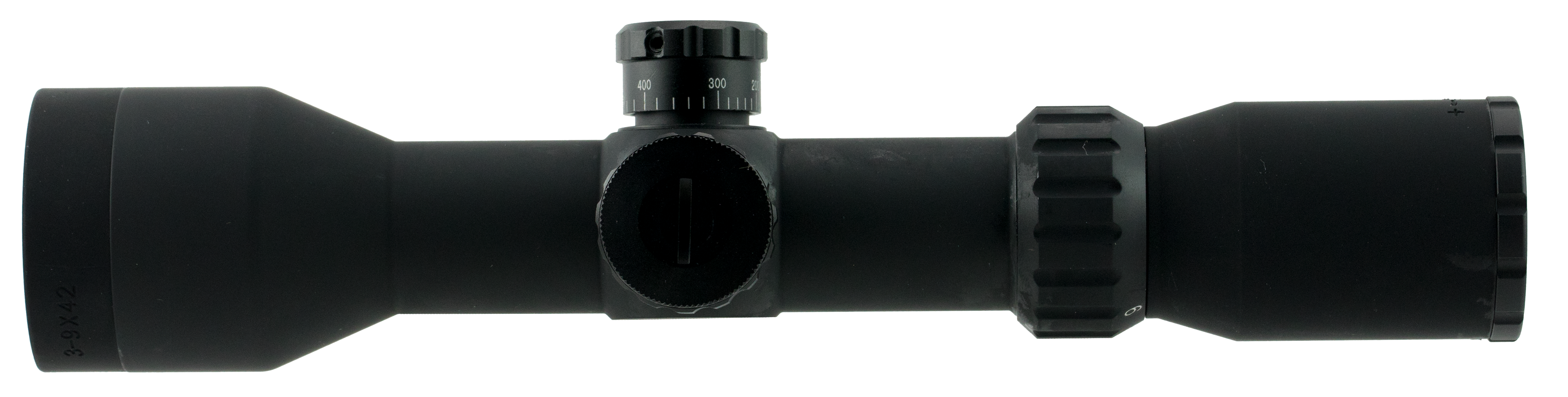Aim Sports JXPFER3942G XPF 3-9x 42mm Obj 41.9-14.1 ft @ 100 yds FOV 30mm Tube Black Matte Illuminated Range Finding