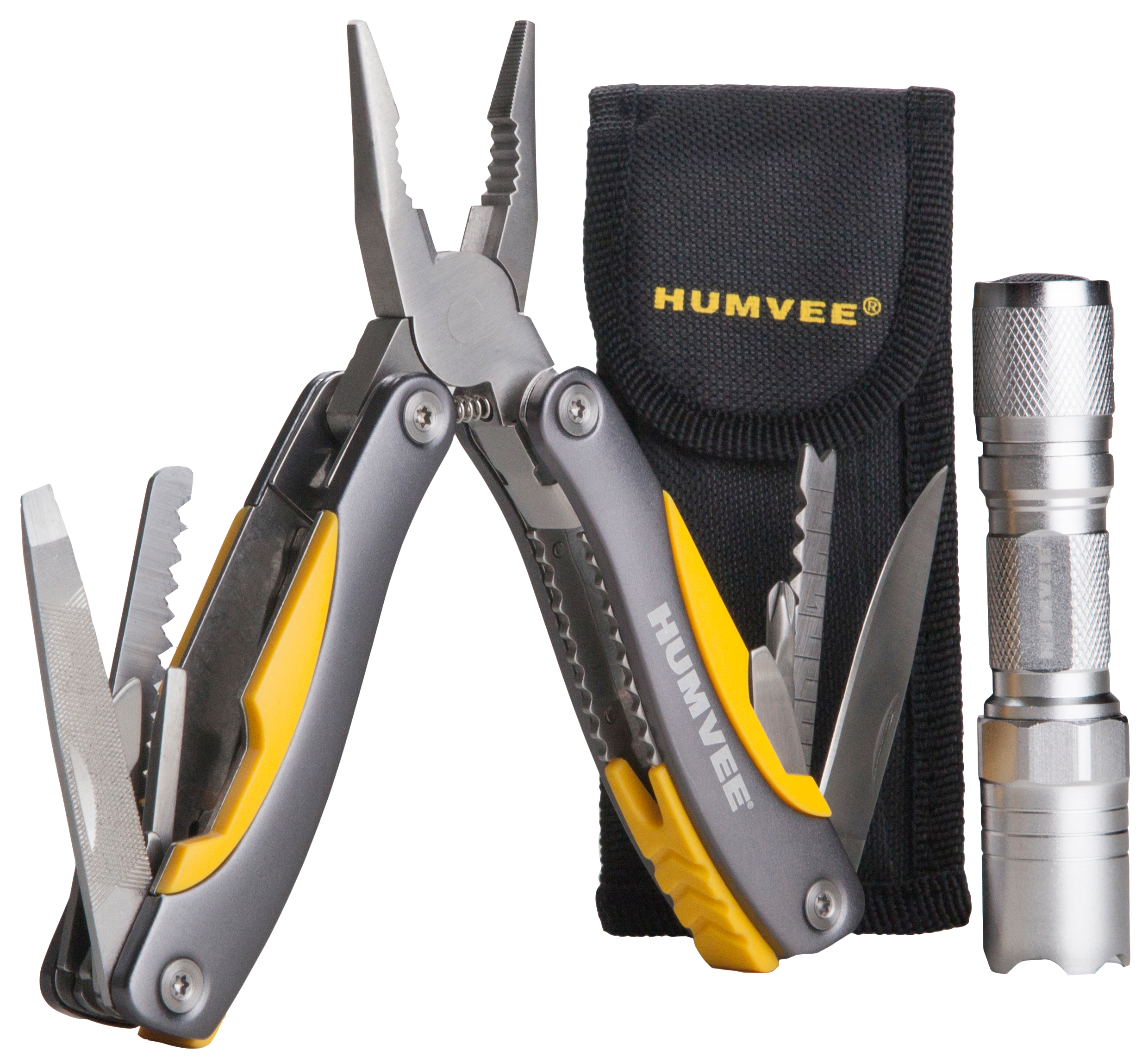 Humvee Accessories HMVCP10 Multi Pliers LED Combo Multi-Purpose Tool