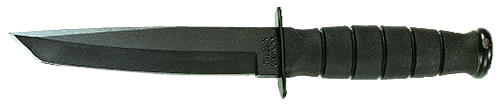 Ka-Bar 1254 Short Black Tanto