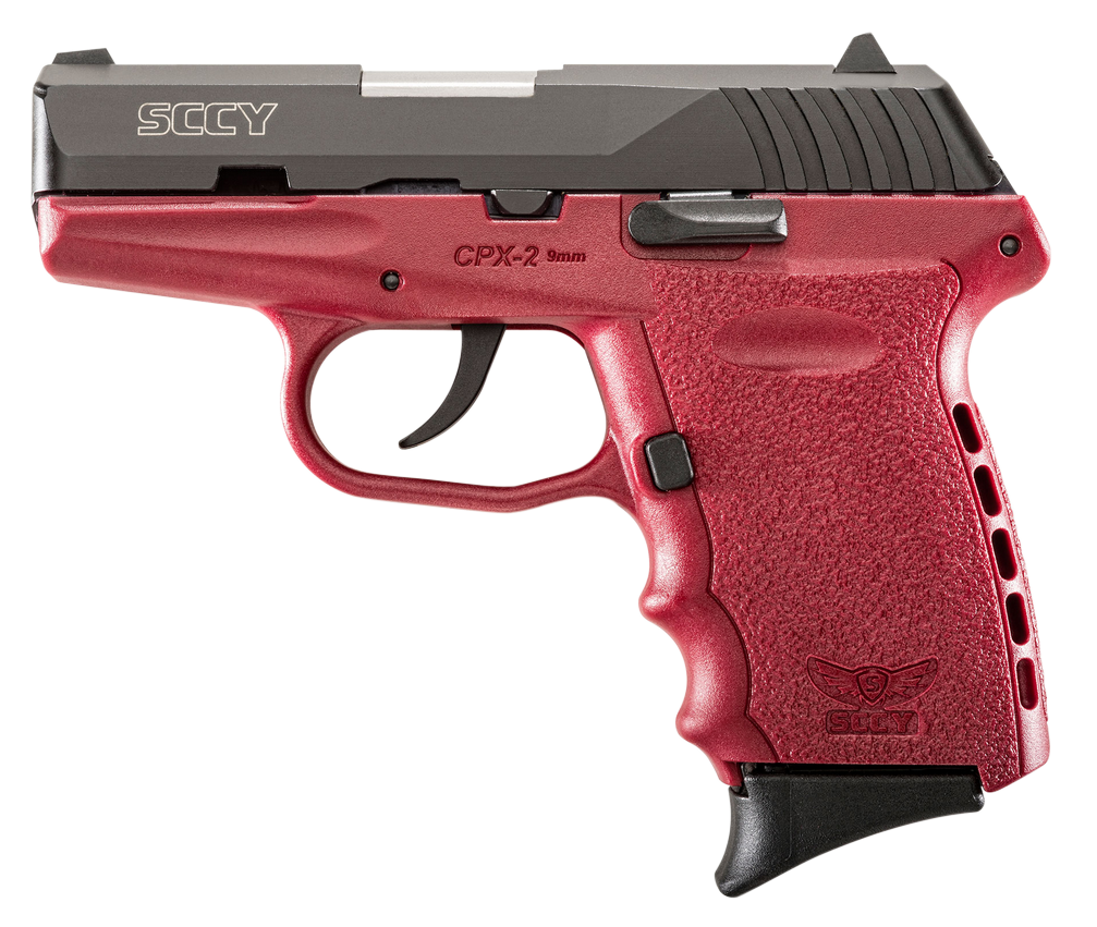 SCCY Industries CPX2CBCR CPX-2 Double 9mm 3.1