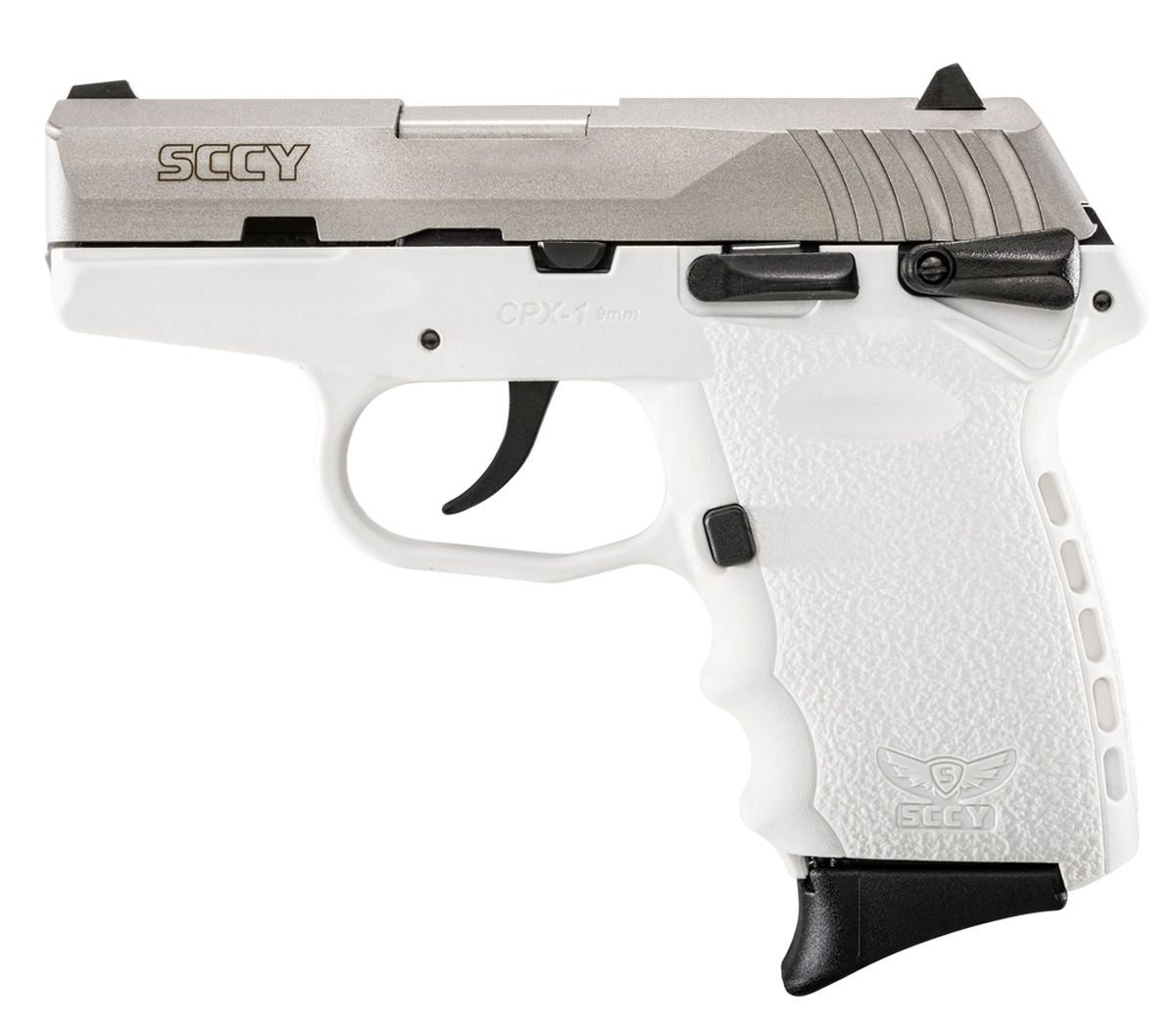 SCCY Industries CPX1TTWT CPX-1 Double 9mm 3.1