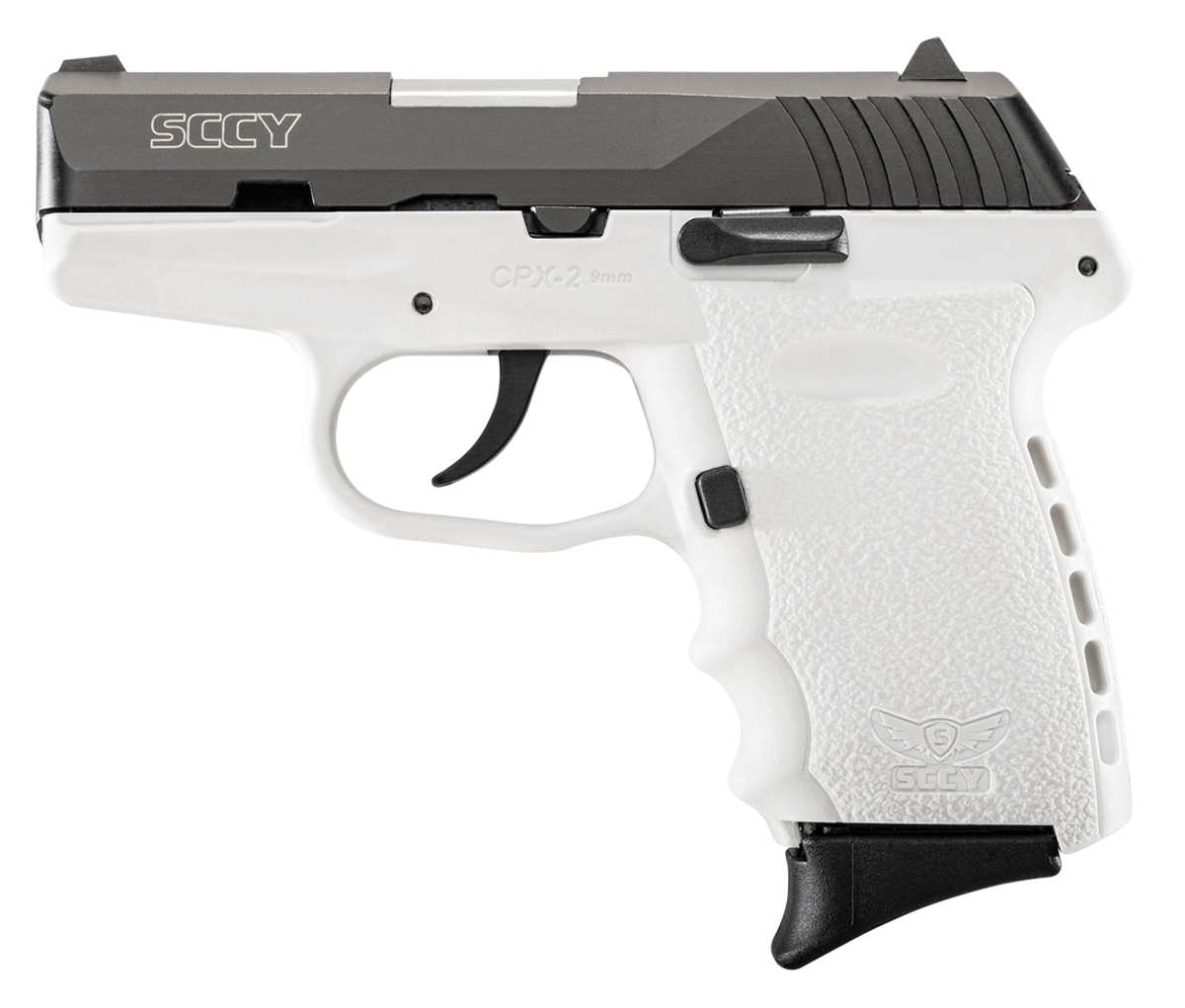 SCCY Industries CPX2CBWT CPX-2 Double 9mm 3.1
