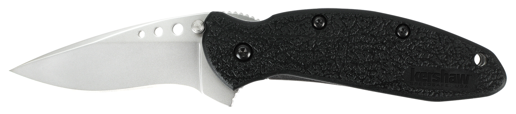 Kershaw 1620 Scallion Folder 420 Stainless Drop Point Blade Polyimide