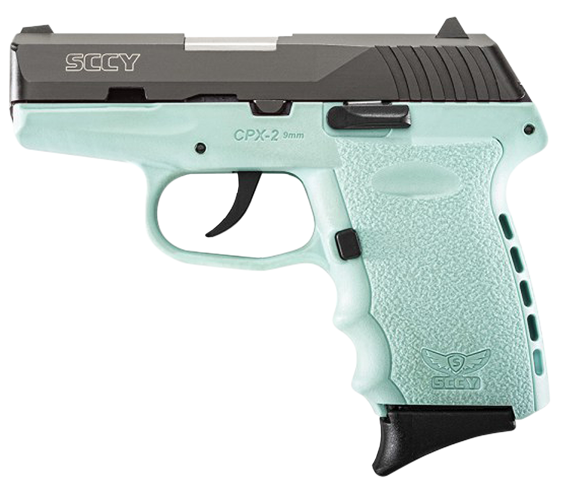 SCCY Industries CPX2CBSB CPX-2 Double 9mm 3.1