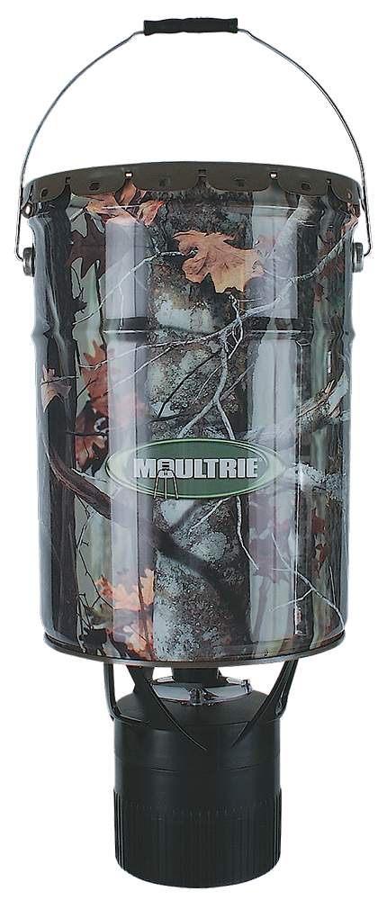Moultrie MFHEP65 Econo Plus Hanging Feeder 6.5Gal Barrel MOBU