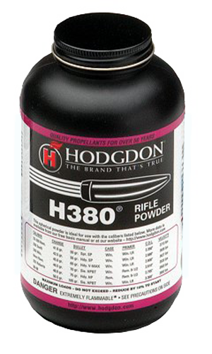 Hodgdon 3801 Spherical H380 Rifle 1 lb 1 Canister