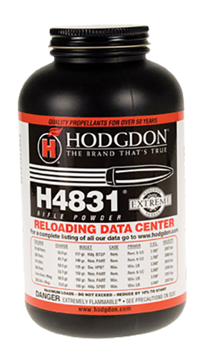 Hodgdon 48318 Extreme H4831 Smokeless Magnum Rifle Power 8lbs 1 Canister