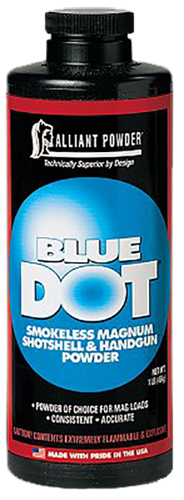 Alliant 150636 Blue Dot Smokeless Magnum Shotshell 1lb 1 Canister
