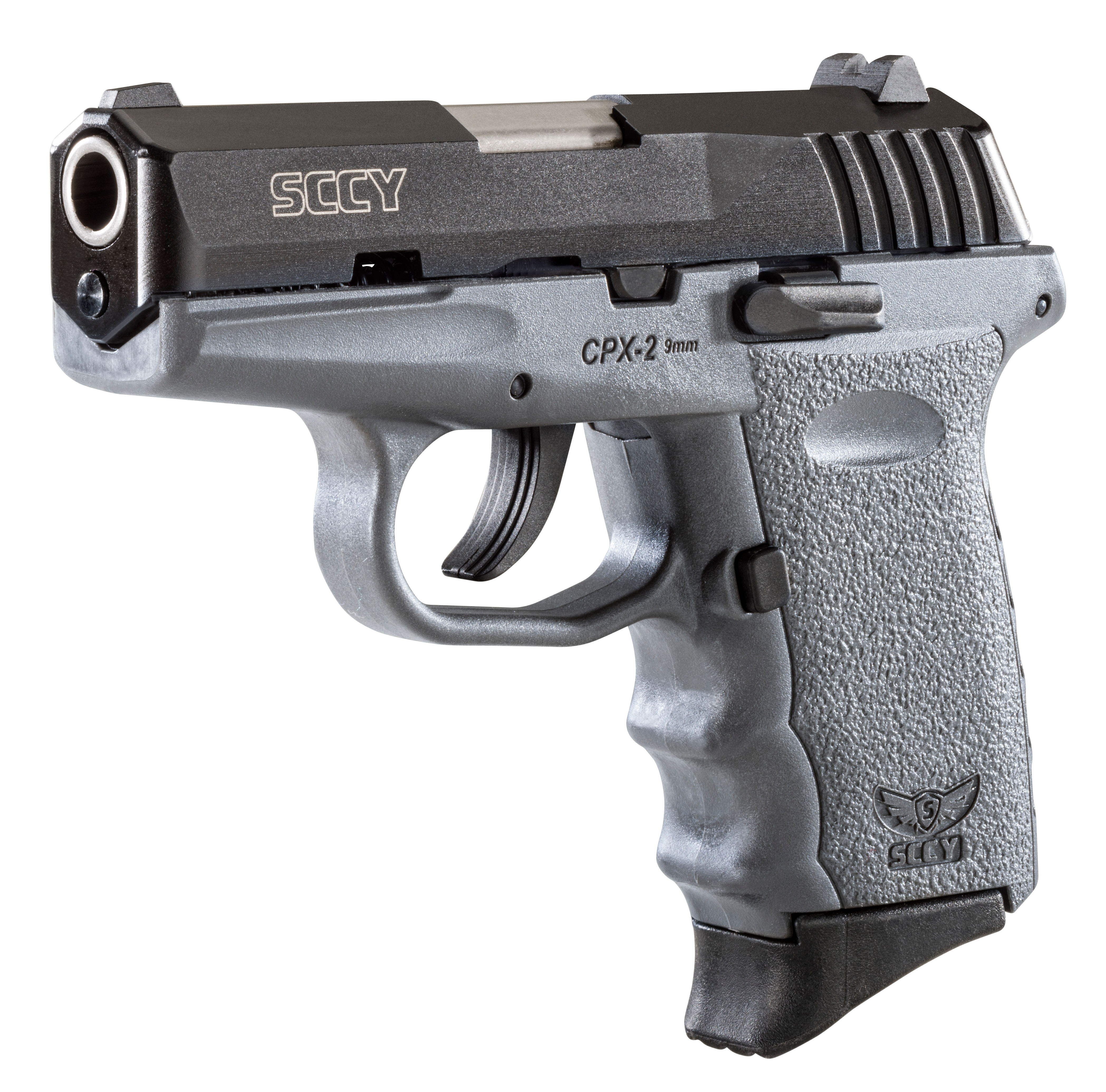 SCCY Industries CPX2CBSG CPX-2 Double 9mm 3.1
