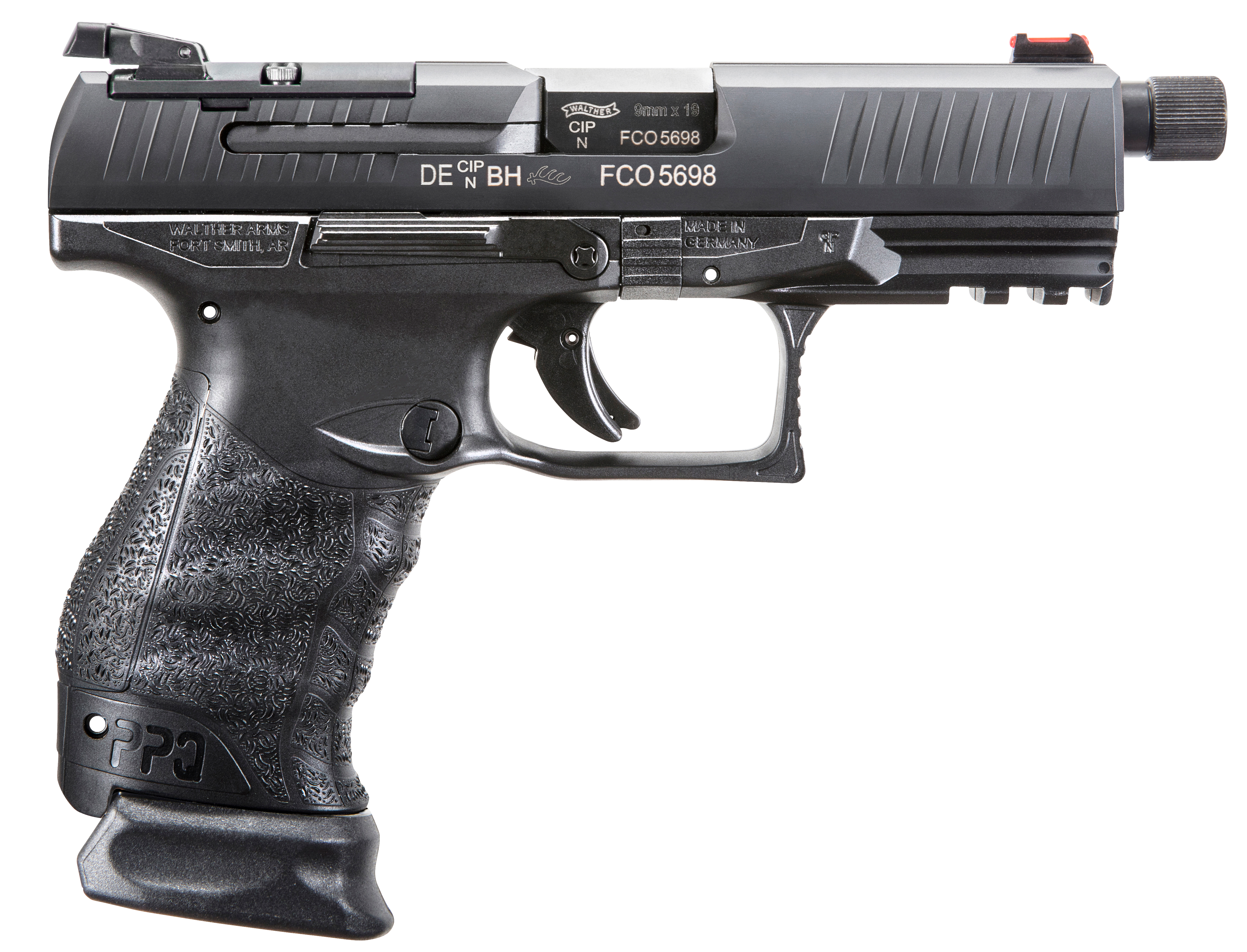 Walther Arms 2825929 PPQ M2 Q4 Tactical Double 9mm Luger 4.6
