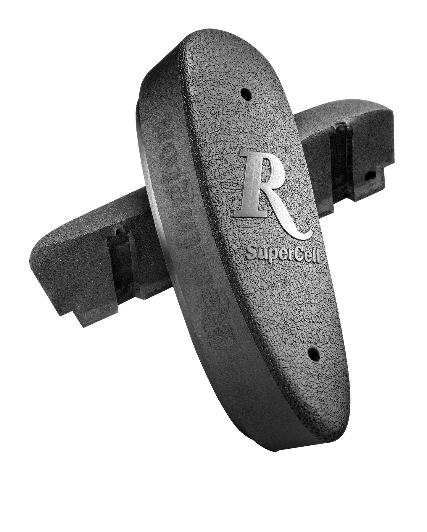 Remington 19472 Supercell Pad Recoil Pad Supercell Black Synthetic