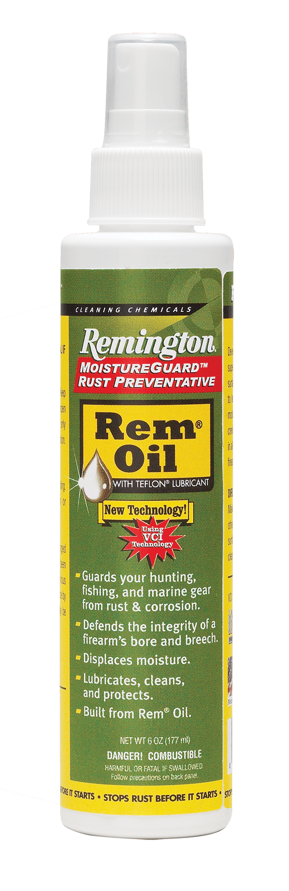 Remington Accessories 18378 MoistureGuard Rem Oil Lubricant 6 oz