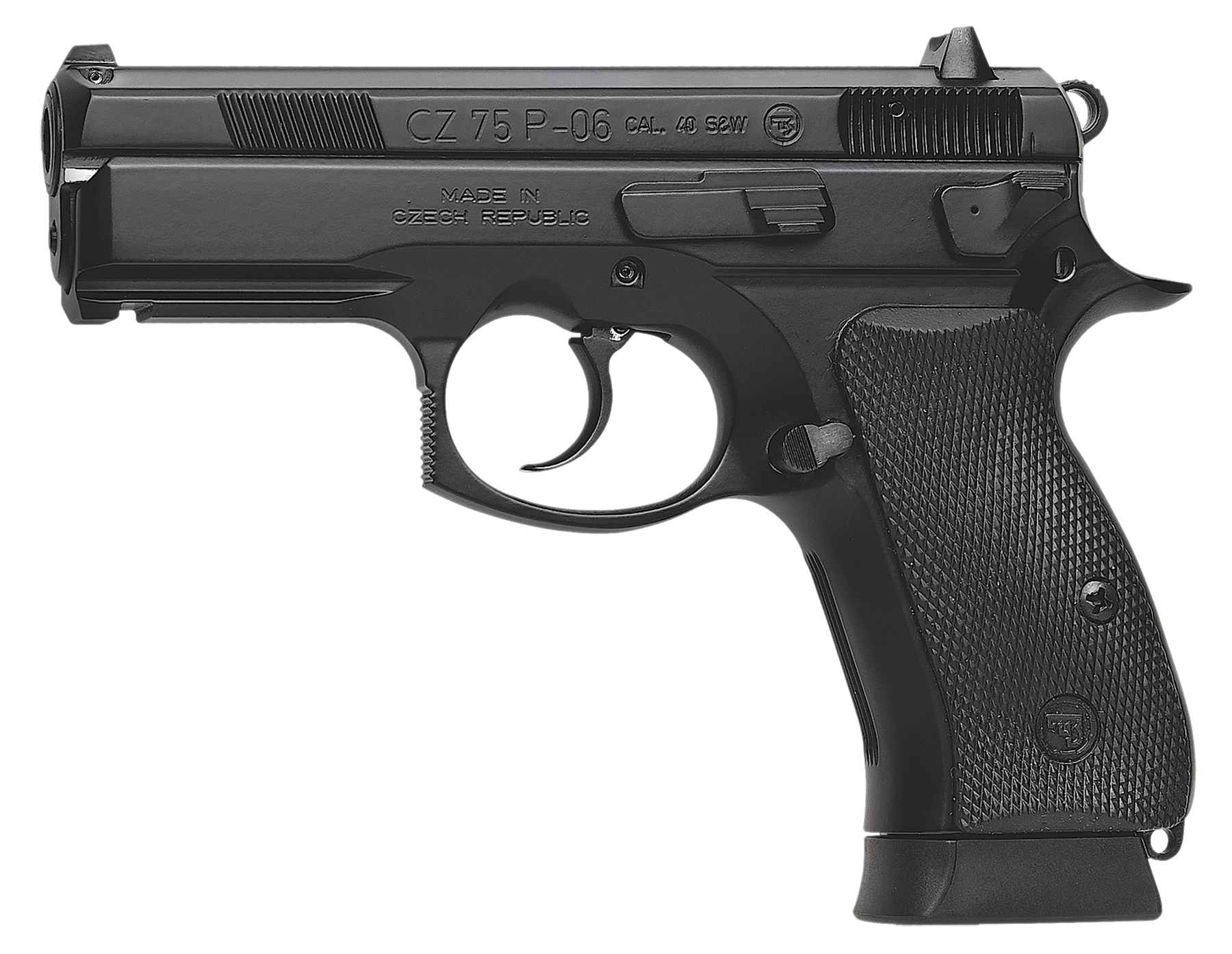 CZ 01185 CZ-P P-06 40 Smith & Wesson 3.9