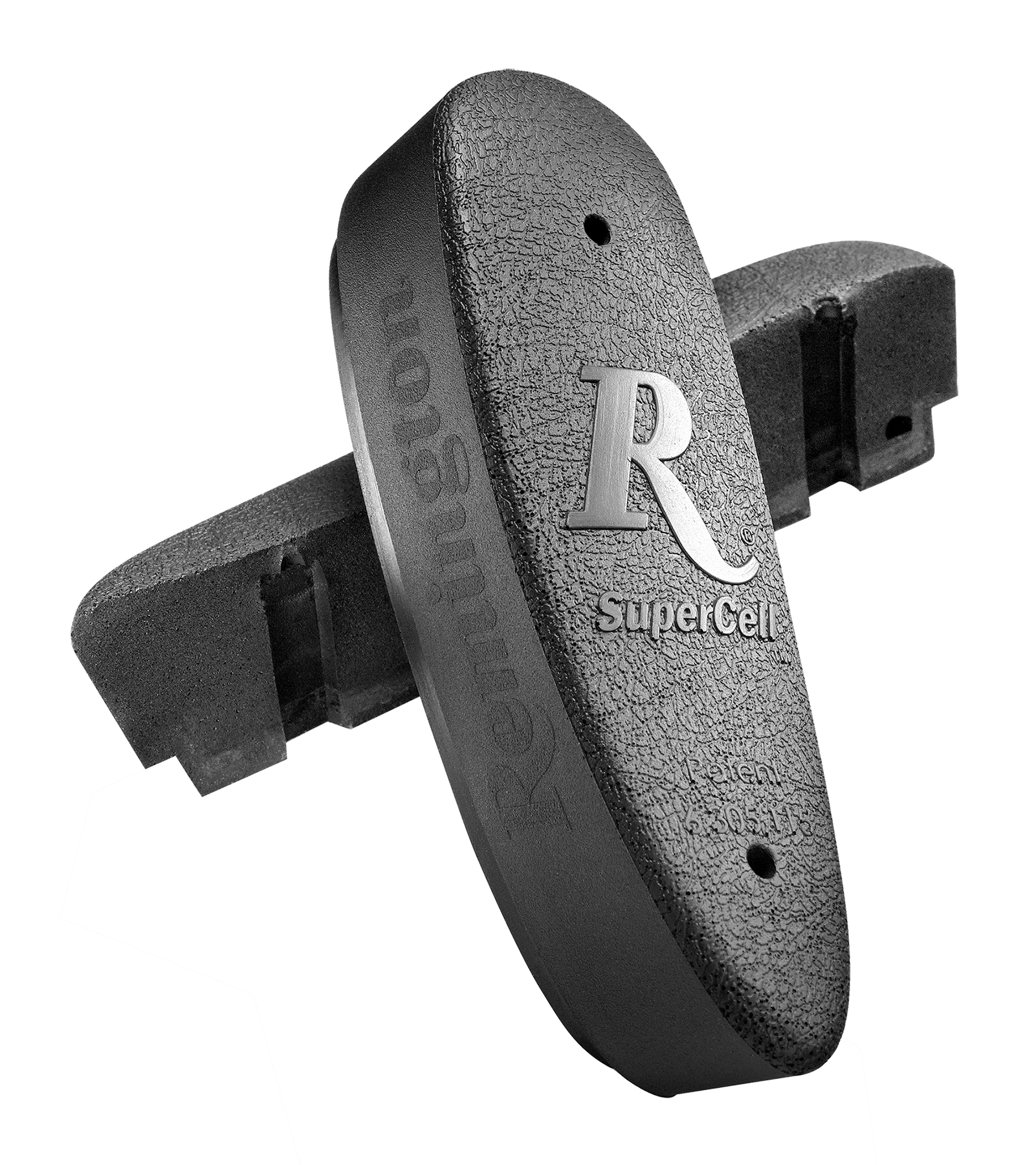 Remington 19483 Supercell Pad Recoil Pad Supercell Brown Wood