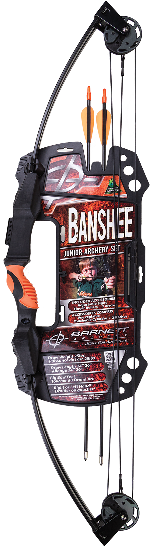 Barnett 1075 Banshee Archery Set Intermediate Banshee Black