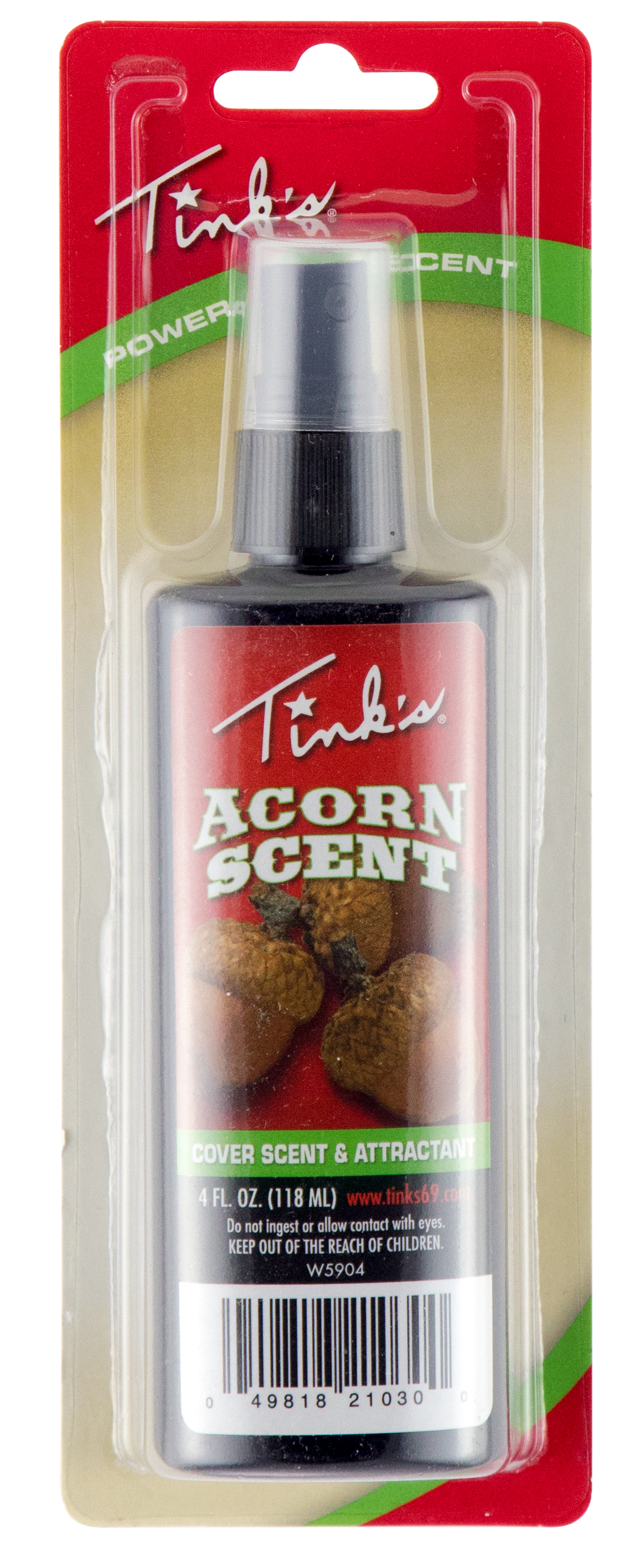 Tinks W5904 Acorn Cover Scent & Attractant 4oz