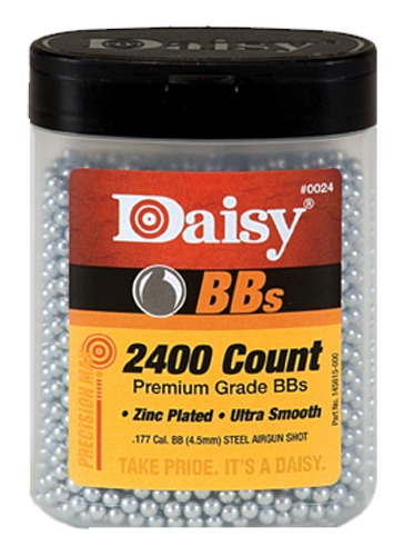 Daisy 24 Bottle .177 BBs Zinc-Plated Steel 2400ct