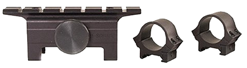 B-Square 18513 Dovetail Mount W/Rings For H&K 91/93/94 & PTR91 Black Finish