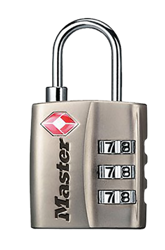Master Lock 4680DNKL Set Your Own Combo Lock Nickel