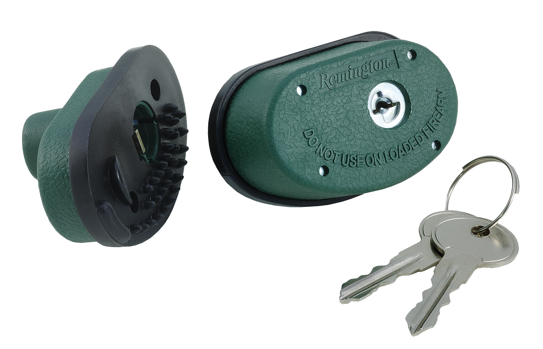Remington Accessories 18491 Trigger Block Lock/2 Keys Gun Lock Green