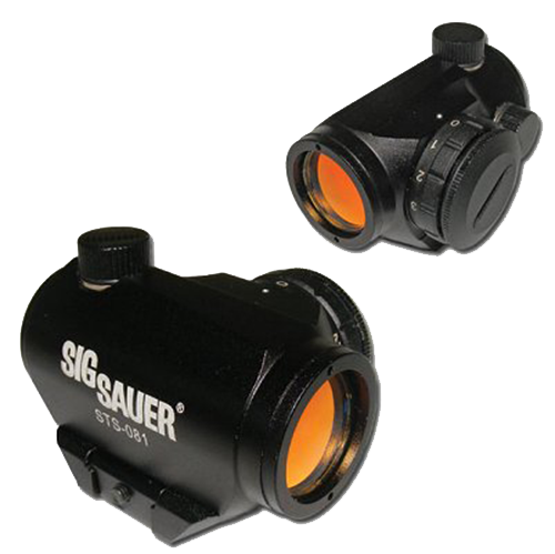 SIGTac SIGHTMRD Mini Red Dot 1x Obj Unlimited Eye Relief 4 MOA Dot Black