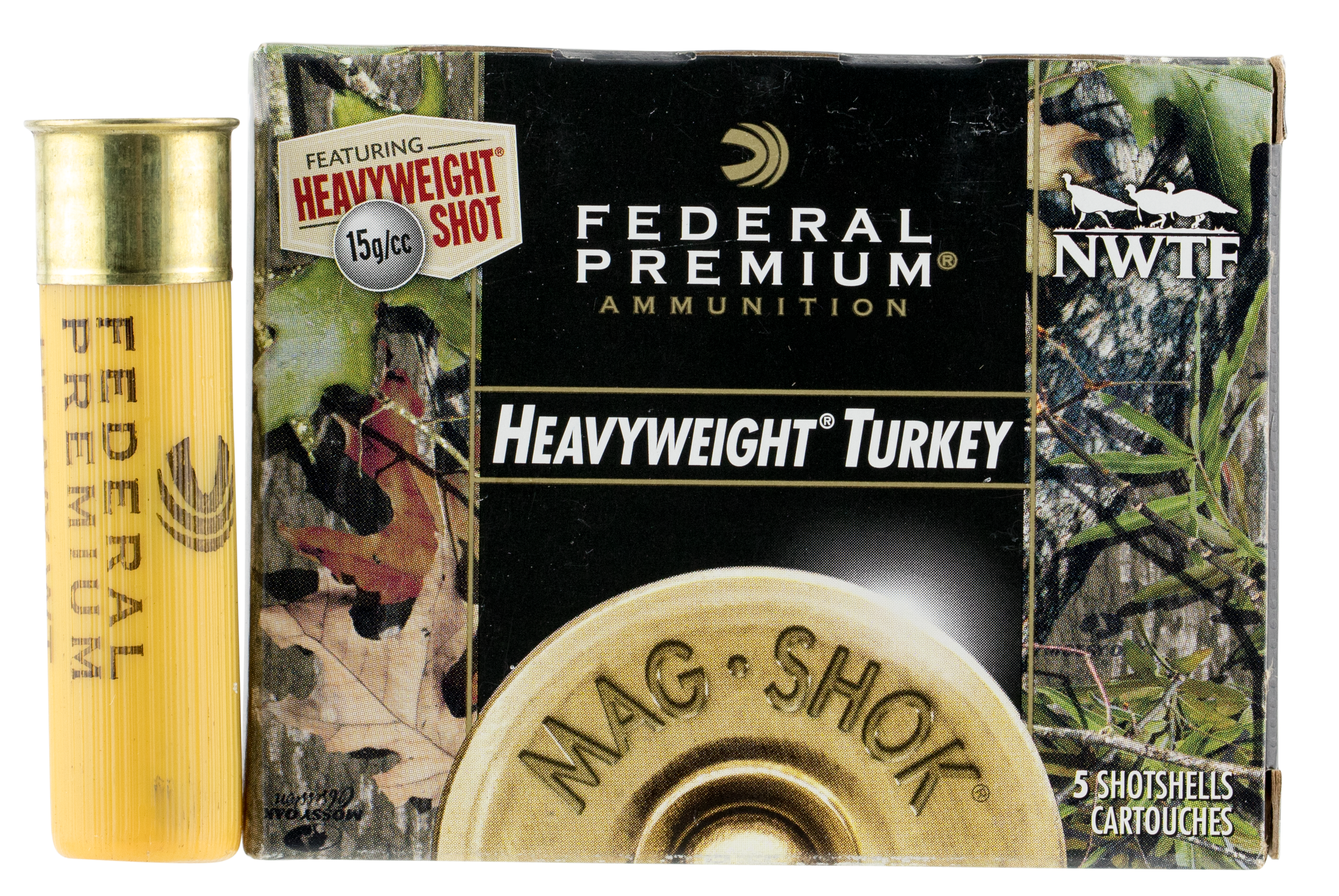 Fed PHT258F7 Prem Mag Shok Heavyweight Turkey 20 ga 3