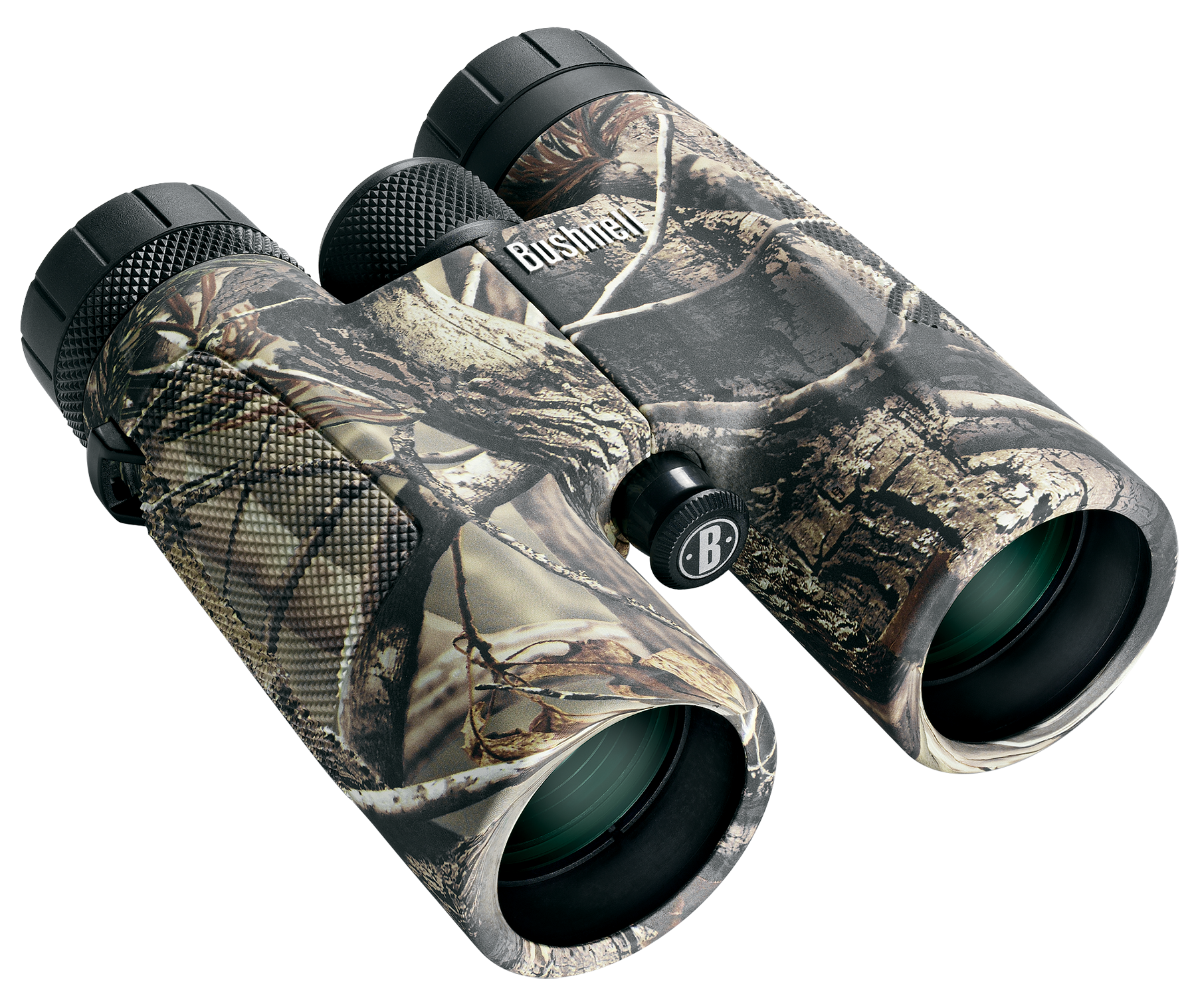 Bushnell 141043 Powerview 10x 42mm 293 ft @ 1000 yds FOV 17.5mm Eye Relief Realtree AP Rubber Armor