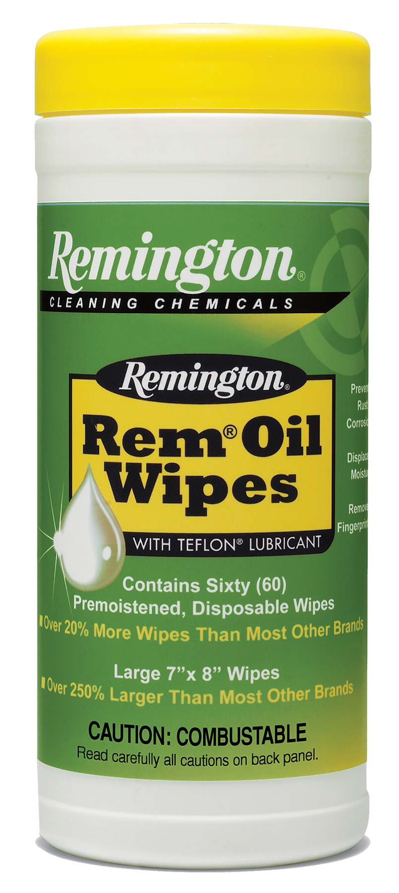 Remington Accessories 18384 Rem Oil Pop Up Wipes Gun Cleaning Wipes 7
