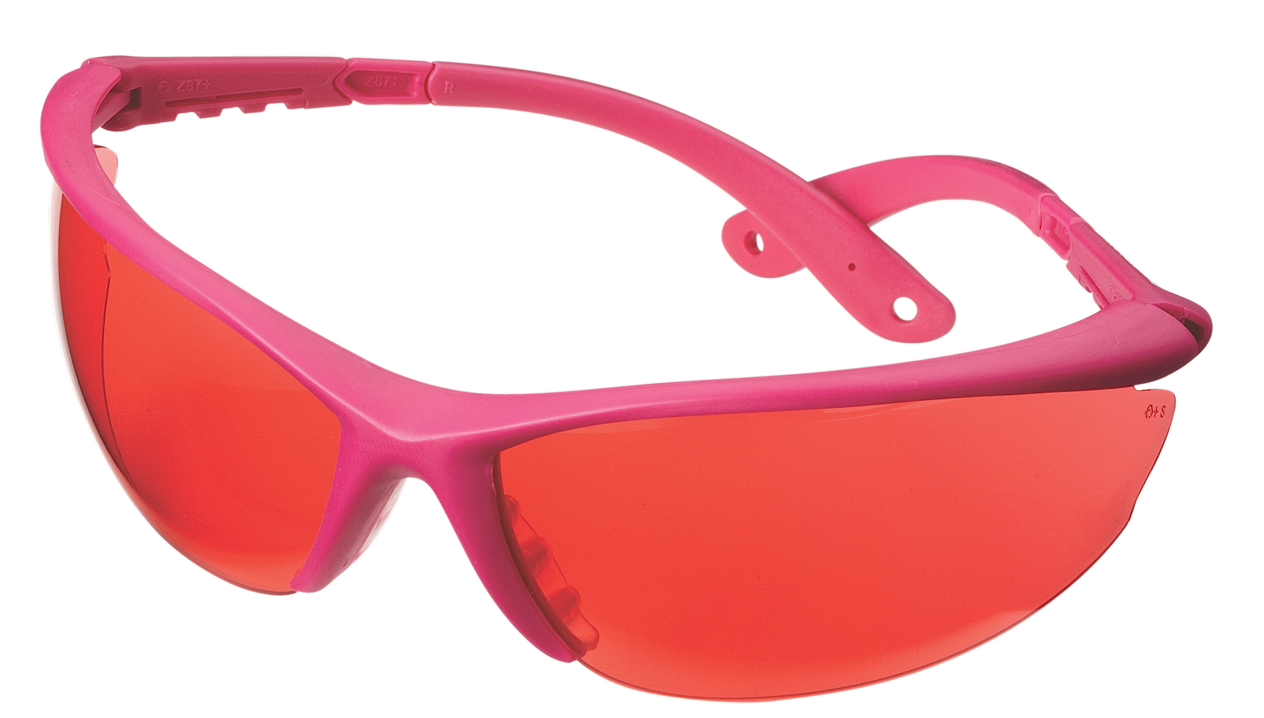 Champion Targets 40605 Standard Shooting/Sporting Glasses Pink Frame/Rose Lens