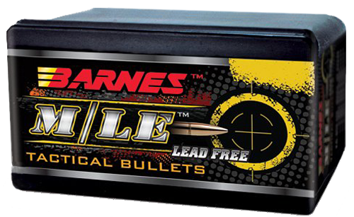 Barnes Bullets 30155 Tactical 223/5.56 Caliber .224 55 GR TAC-X Flat Base 50 Box