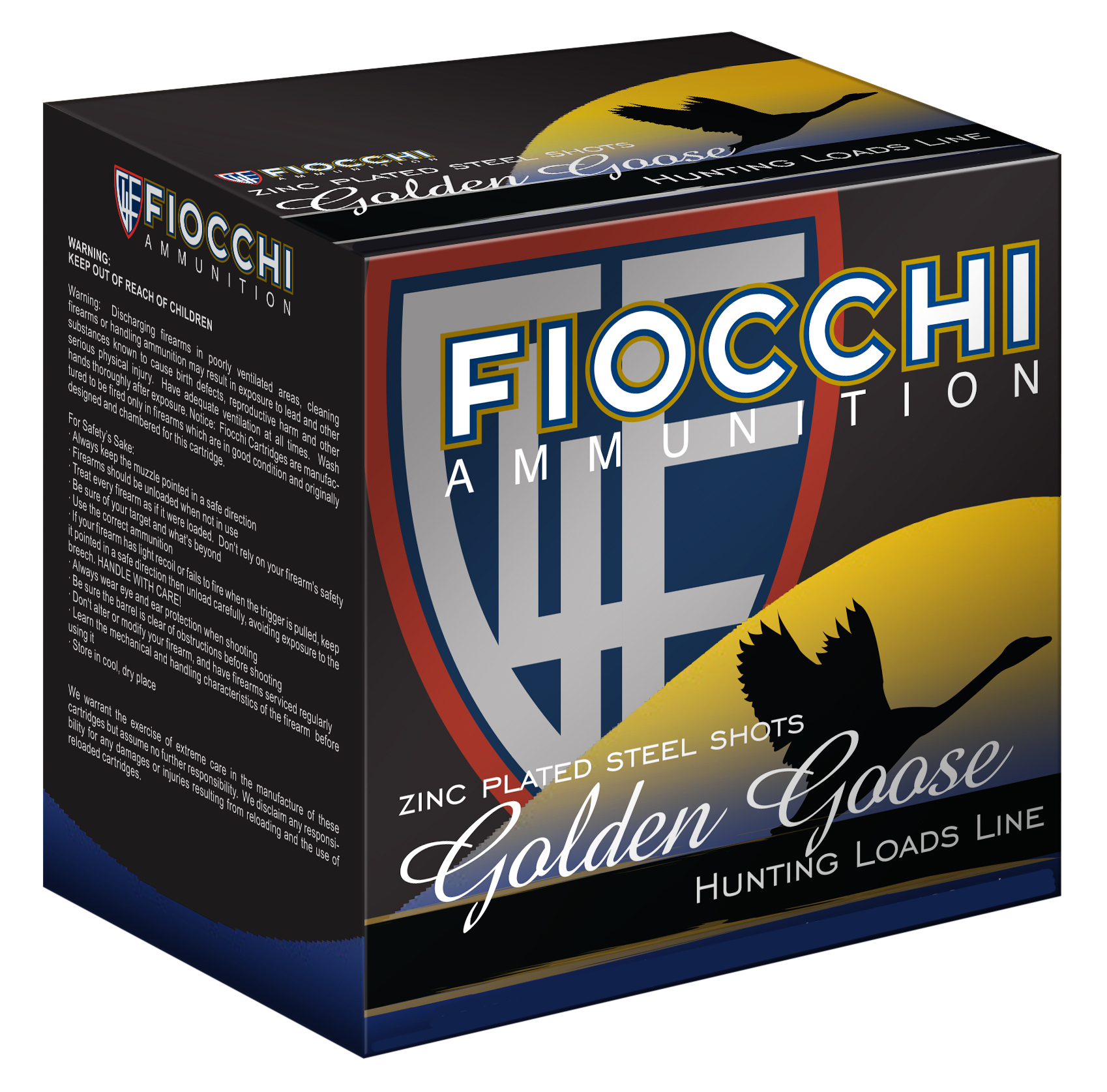 Fiocchi 1235GGBB Steel Waterfowl Shotshell 12 Ga 3.5