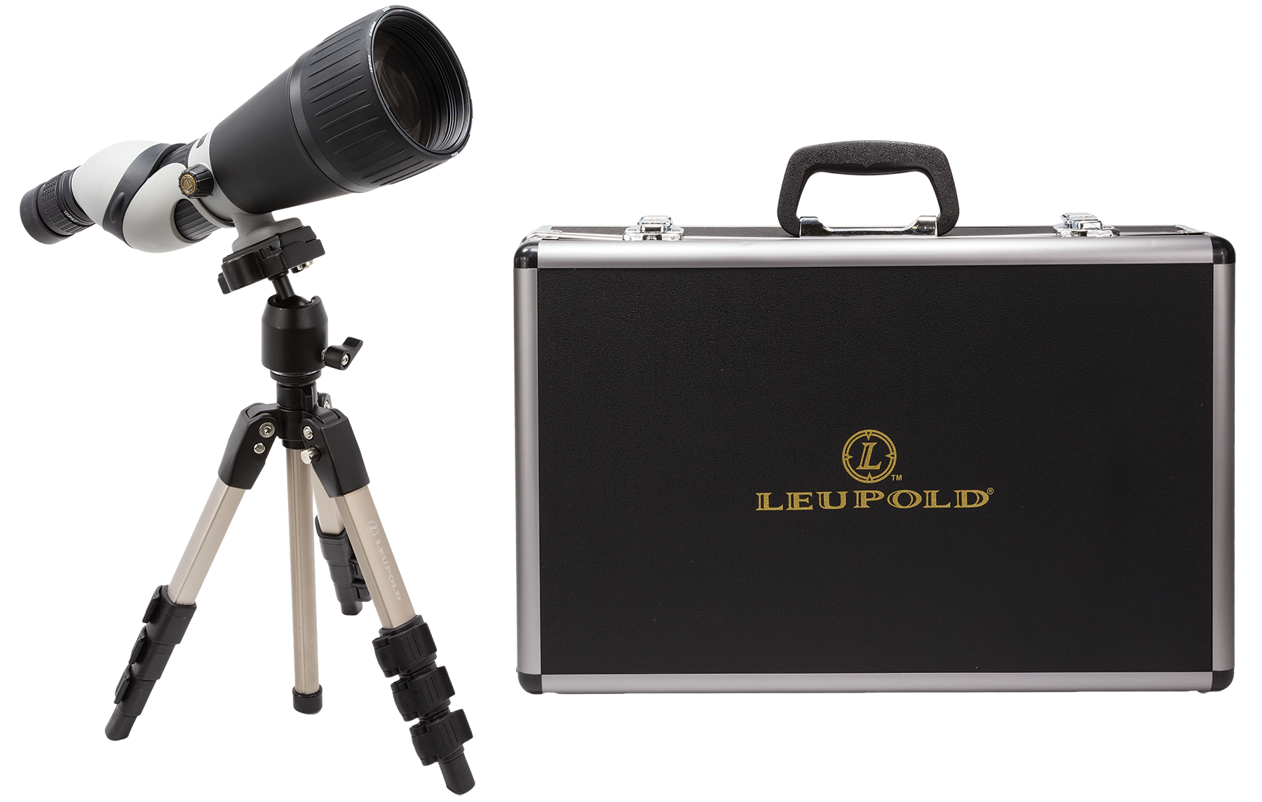 Leupold 64305  25-60x 80mm 94-52 ft @ 1000 yds 17.4-17.9mm Black/Gray