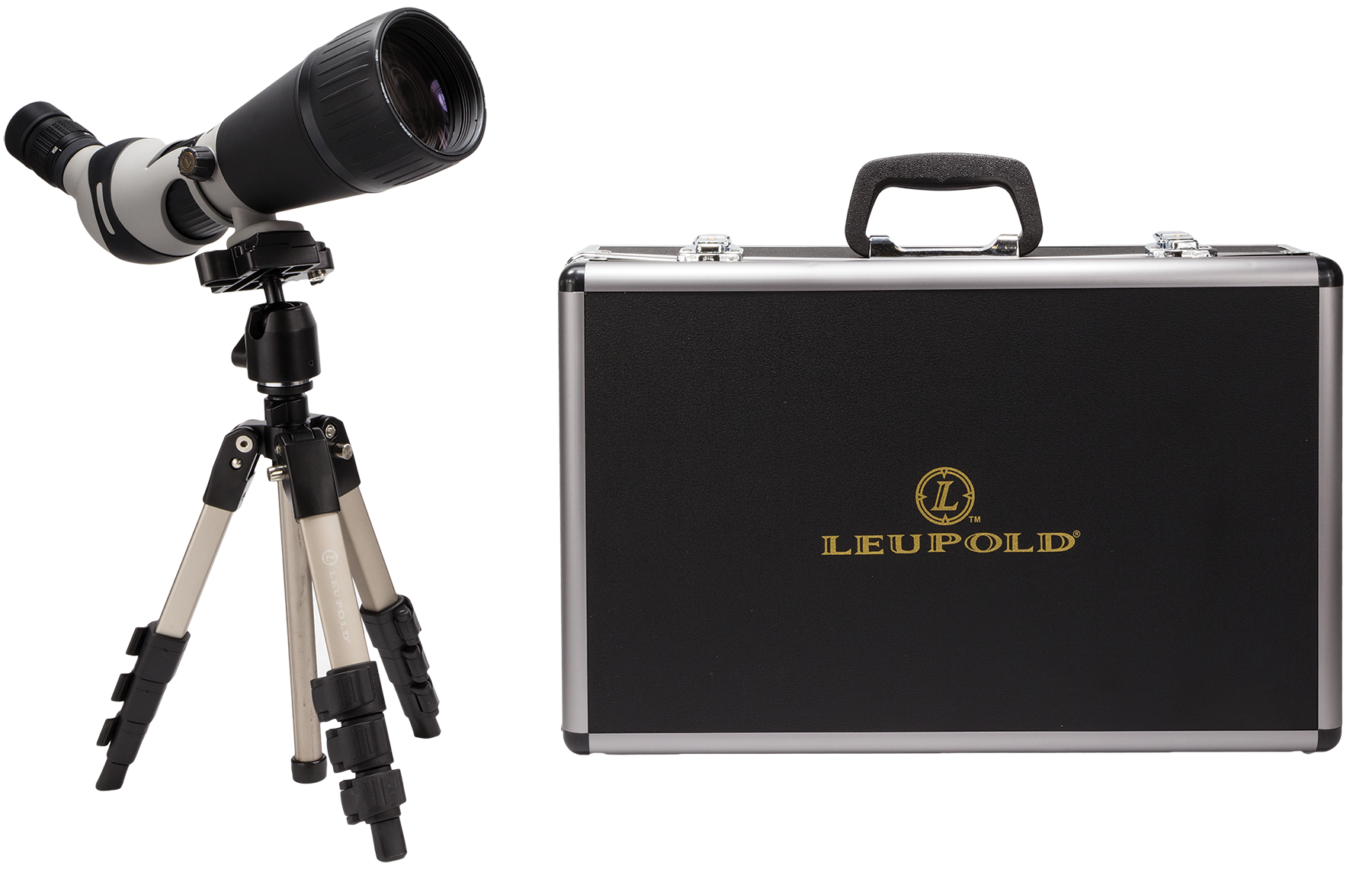 Leupold 64310  25-60x 80mm 94-52 ft @ 1000 yds 17.4-17.9mm Black/Gray